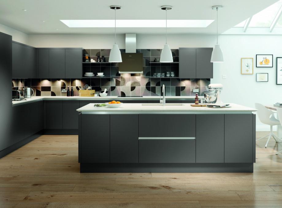 Contemporary Kitchen Range